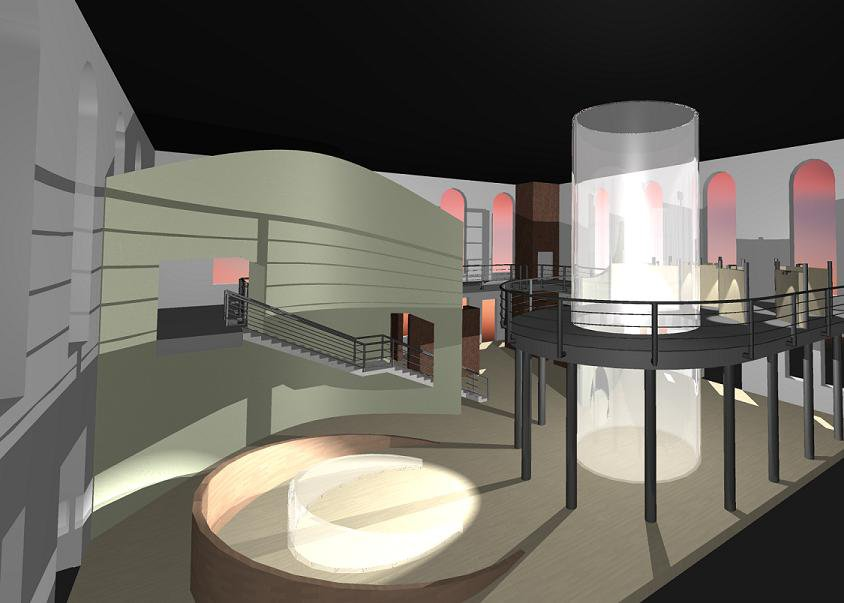 Another shot of the museum Im doing... slightly modified...