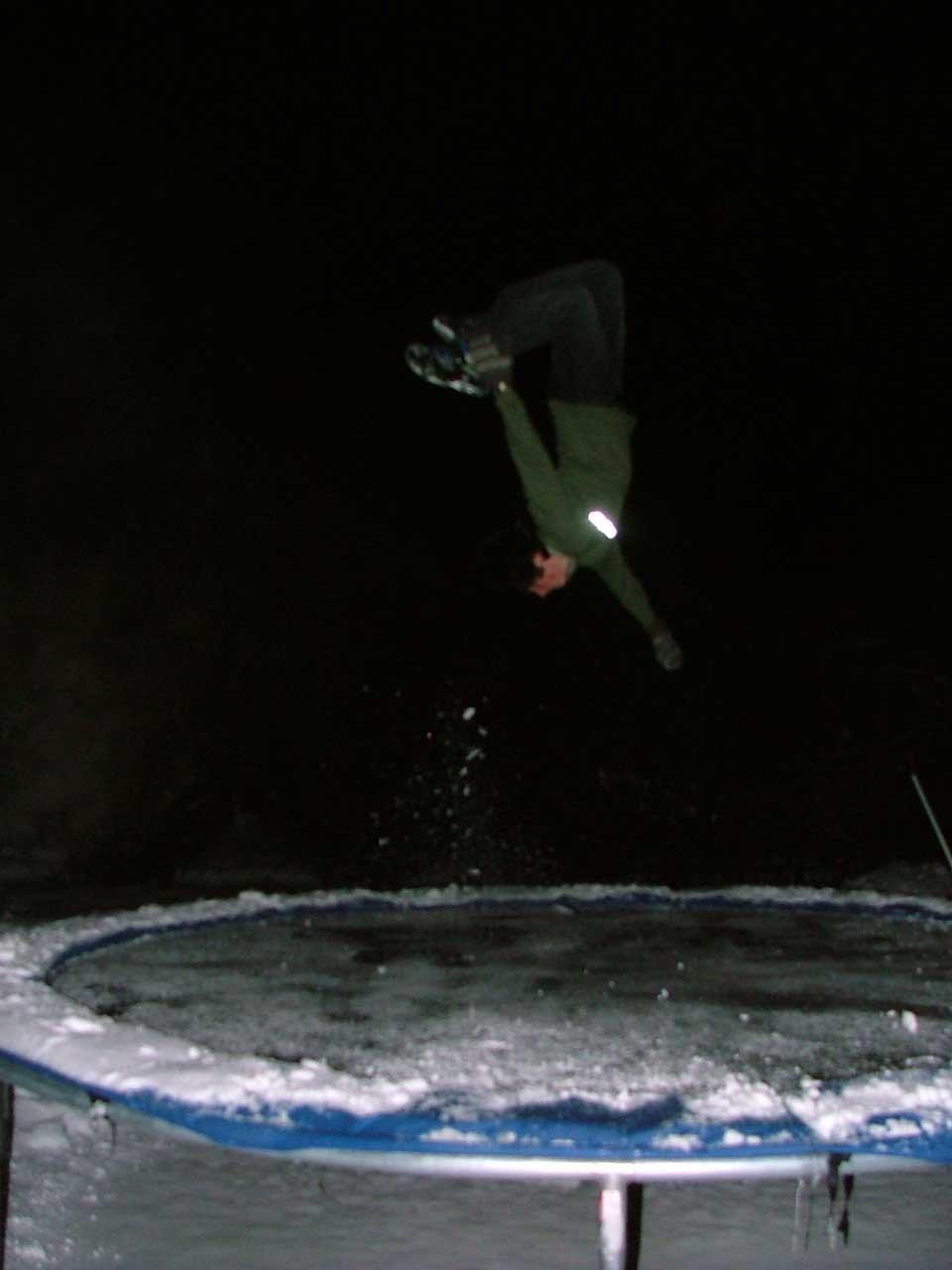 Snowy lincoln loop