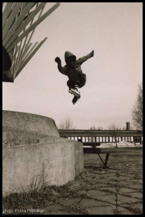 dropin' and spinnin'