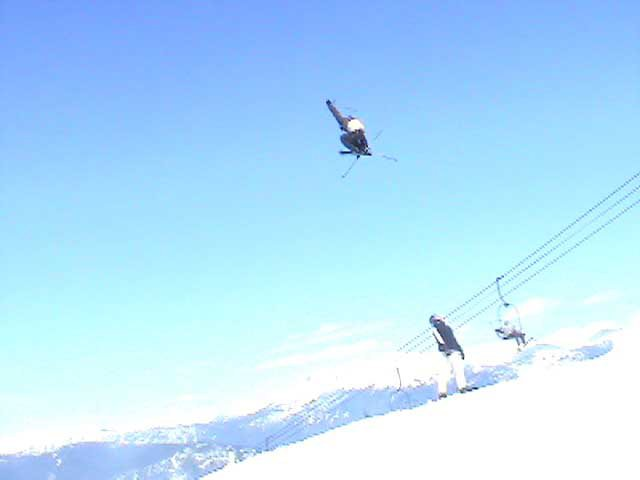Huge Whistler Booter over brother in law