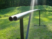 My new rail... summer jibbing hoo rah.