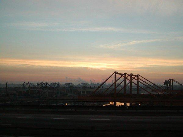 industrial dawn