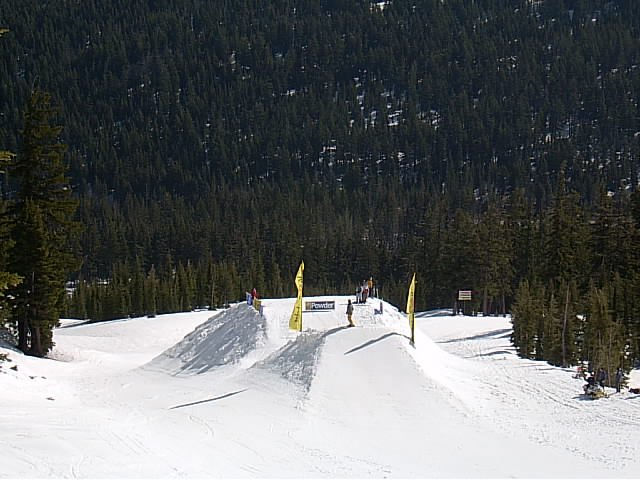 Big 120ft. Jump at Superpark