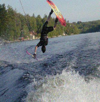 Wakeboard Backflip