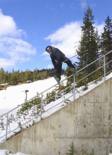 Killersteep rail