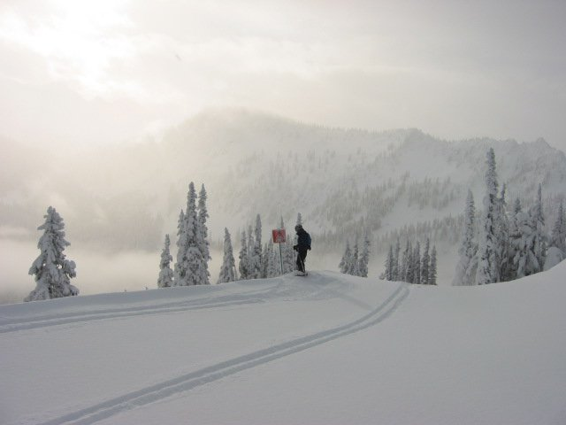 What it looks like on a stevens pass POW DAY