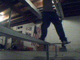 melow boardslide
