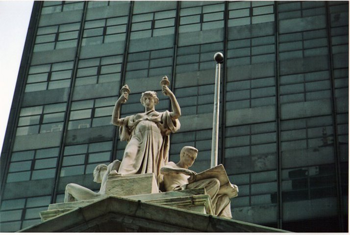 Lady Justice (At Grand Central Station)