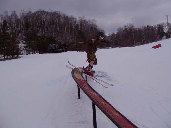 tail slide