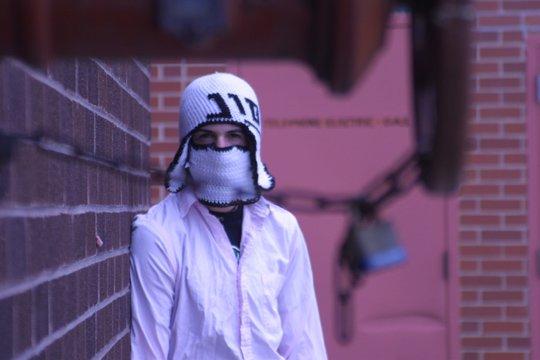 Jon rockin the ninja steeze.