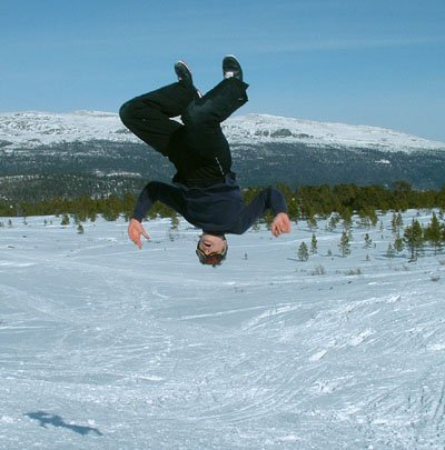 "Cross-country ""skiing"""