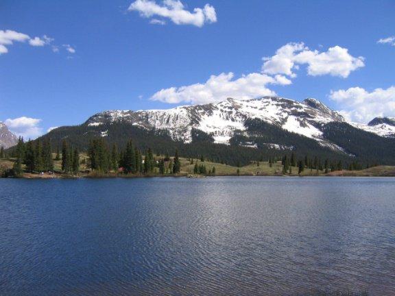 lake and mountains a day ago