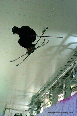 Pipe hit indoor slope