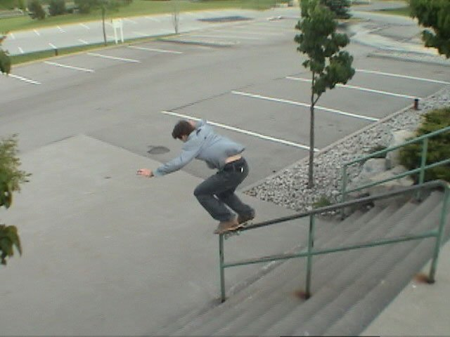 bs boardslide on the 9-set