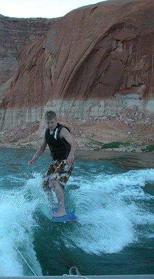 More Wakesurfing Fun