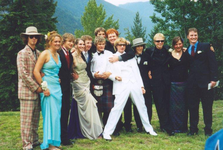 Ski Crew At Grad