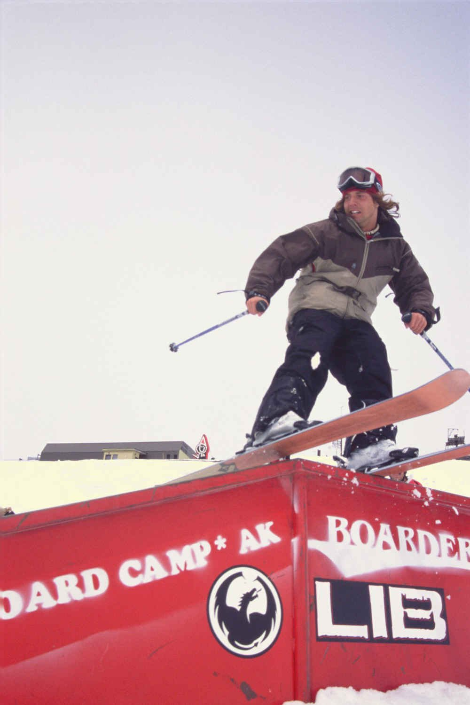 Zack/ sliding a rail
