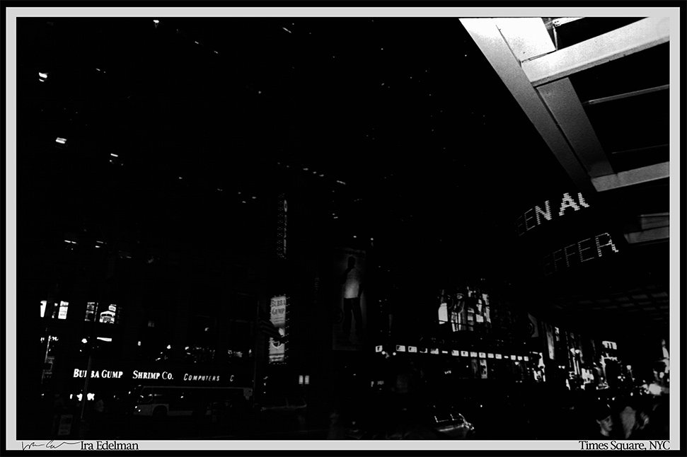NYC.....Meh, this was from an 11X14 print, scanned in parts, tweaked levels like crazy to get it rig