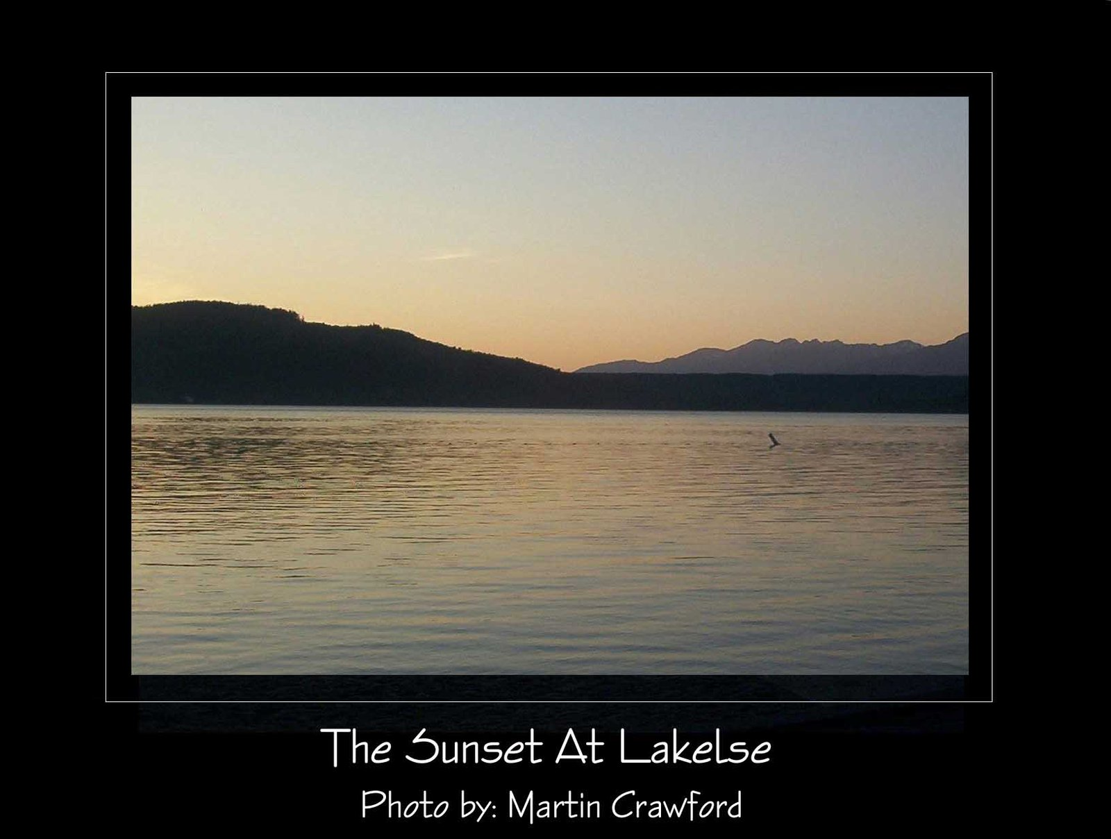 Sunset At Lakelse 2