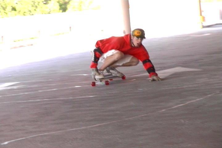 Garage longboarding 2