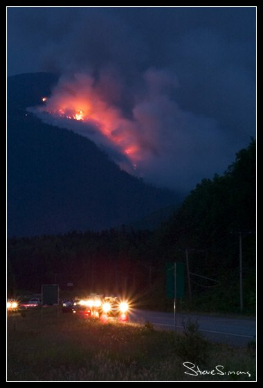 Forest Fire by my House 02