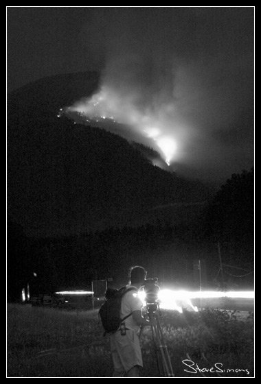 Forest Fire by my House 03