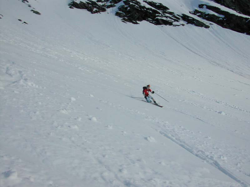Big m. Summer skiing. U gotta luv it 3