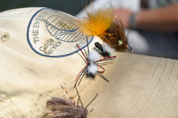 The evening hatch guide hat