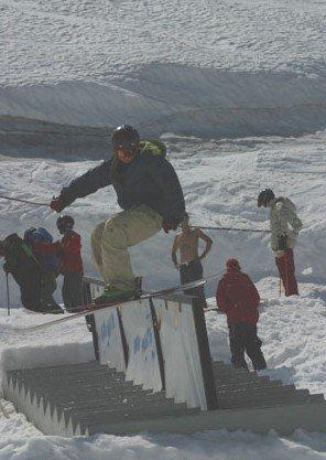 stair rail lipslide tailslide