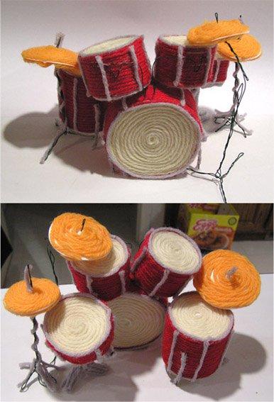 Yarn Drumset