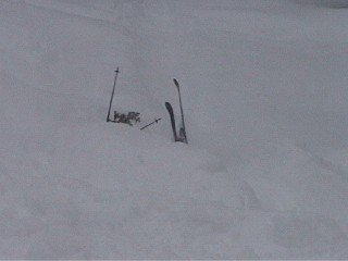 buried in pow