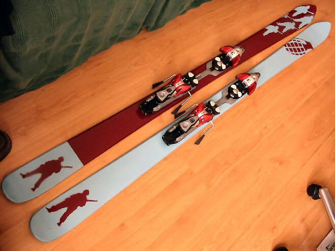 my new ski graphic....