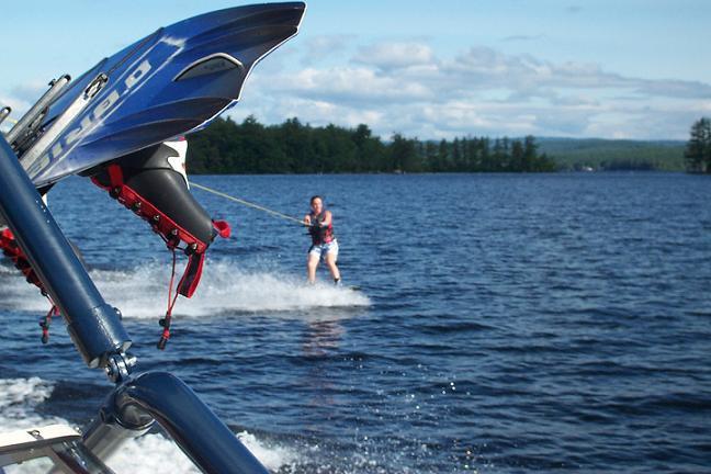 cool wakeboard shot