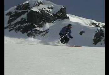 Big Mountain turn (Hidden Lake Peak)