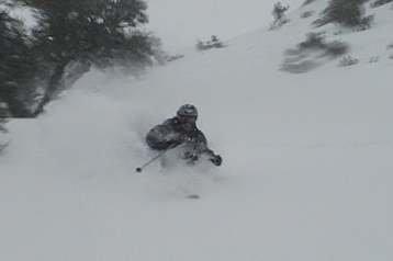Fast Utah Pow Turn