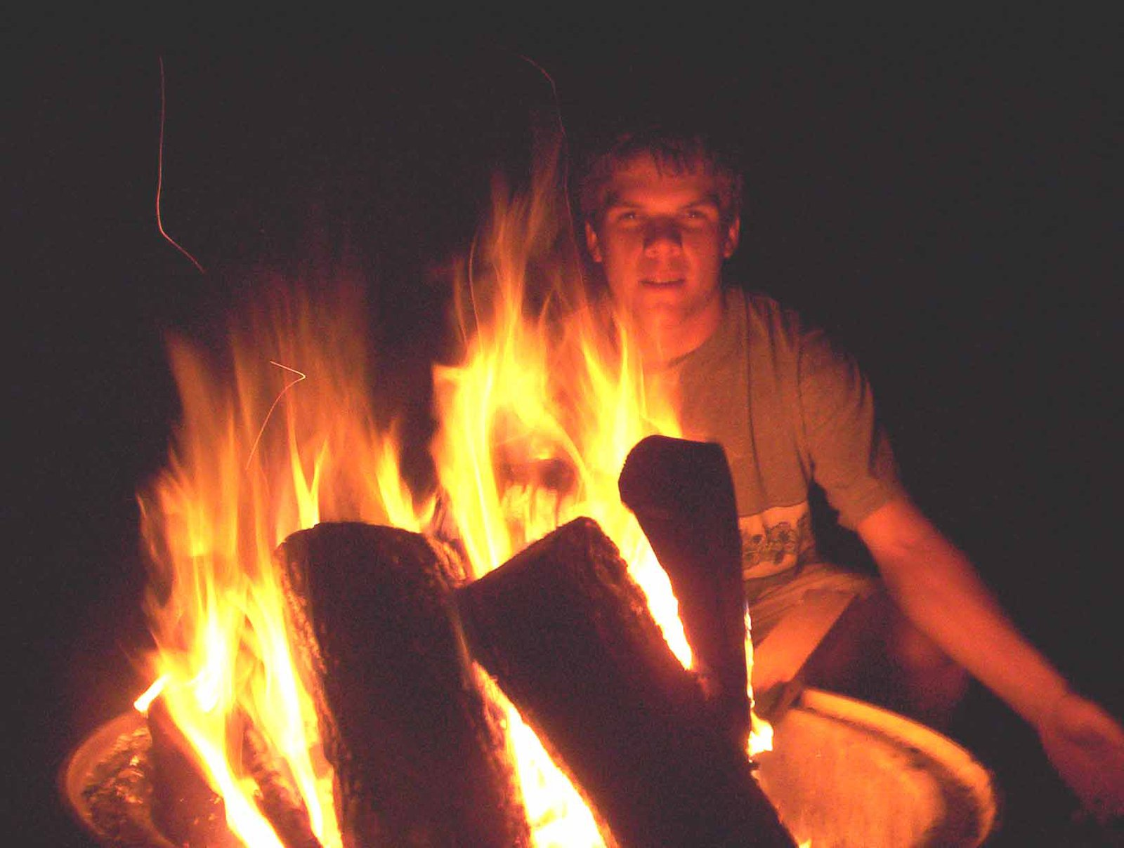 trippy fire picture