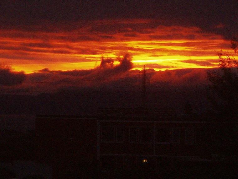 Fire in the sky!!