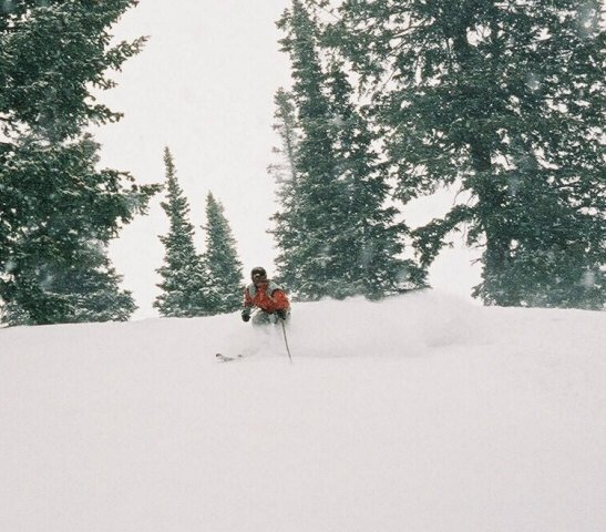 More playin in the pow...April 2004