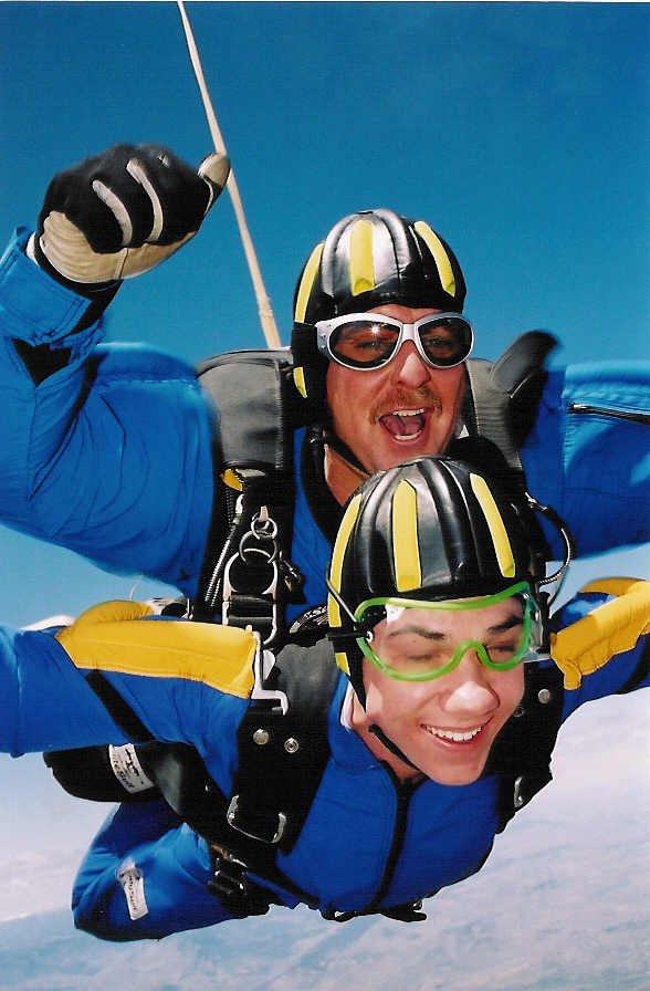 MORE Pictures of the 16000 foot jump