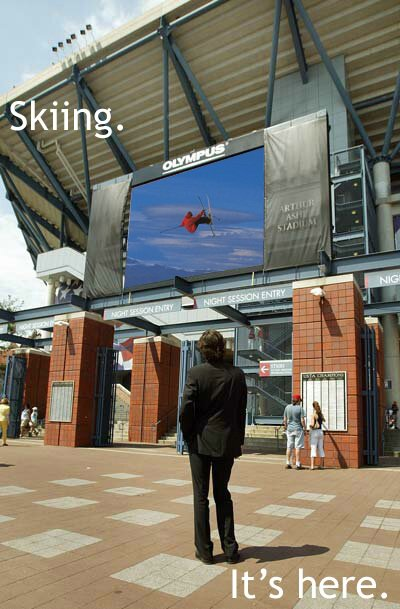 Skiing Ad Campaign 3