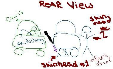 skin head diagram
