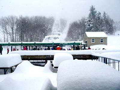 December storm at Cannon, POWDER!!!