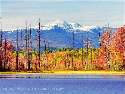 nice fall pic of mt. washington