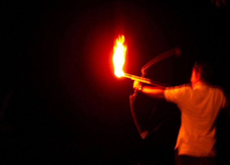 A Flaming Arrow