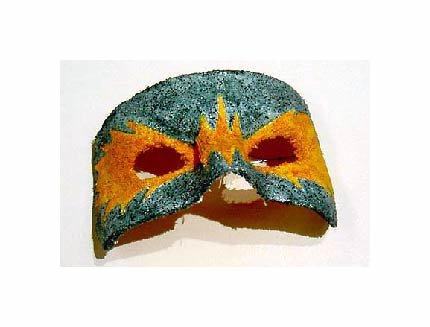 Mask. Made at school.