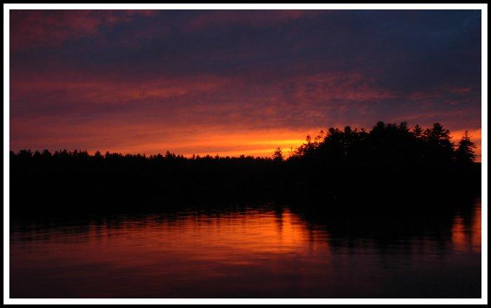 Summer Sunset At Squam Lake
