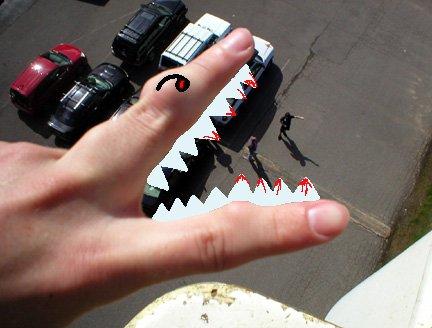the monster returns to terrorize........