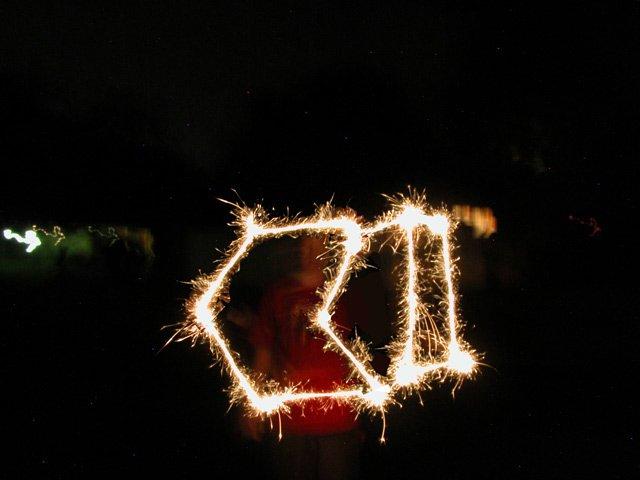 strange fireworks