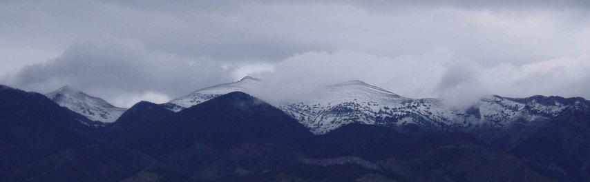 Sacajawea Peak, first snow of the season!