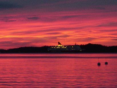 Ferry/Sunset